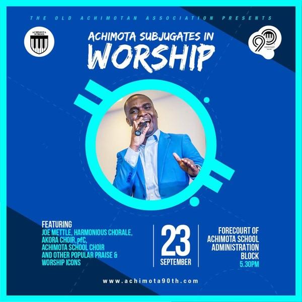 Achimota Subjugates In Worship