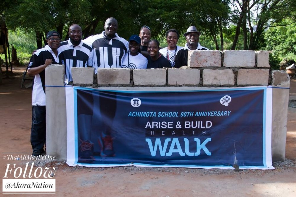 #Achimota90th Arise & Build Health Walk to kick off fence wall project - 25.MAY.17