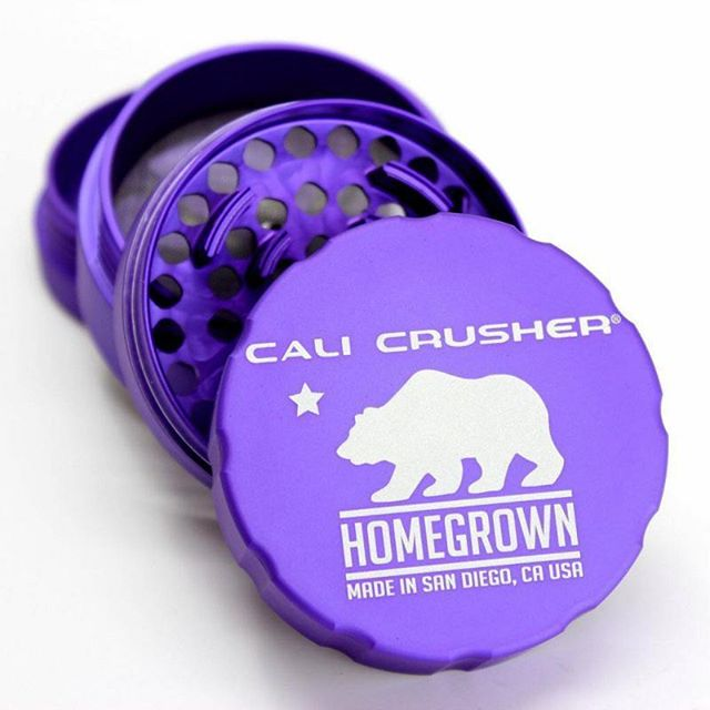 Look at the teeth on this thing! #calicrusher #grinder