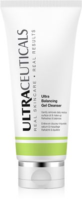 ULTRA BALANCING GEL CLEANSER   $55.00  Light lathering, gel cleanser formulated to thoroughly cleanse and remove surface impurities and make-up without disturbing the skin's natural moisture balance.  Ideal for Oily to Normal skin. Paraben free. Synthetic fragrance free.