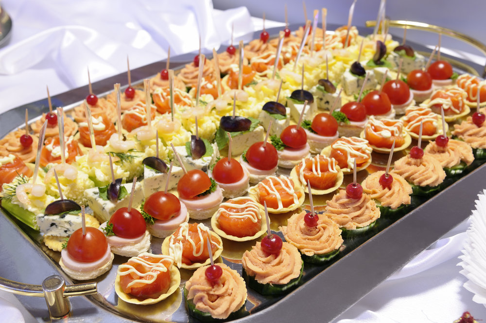 Cocktail Party Canapes