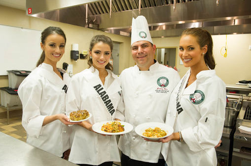 Cooking Demo Miss USA