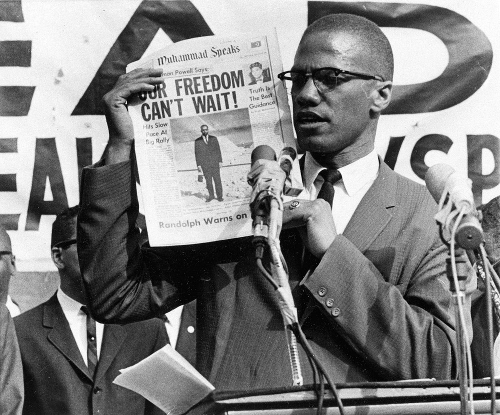 """Who taught you to hate yourself?""    - Malcolm X"