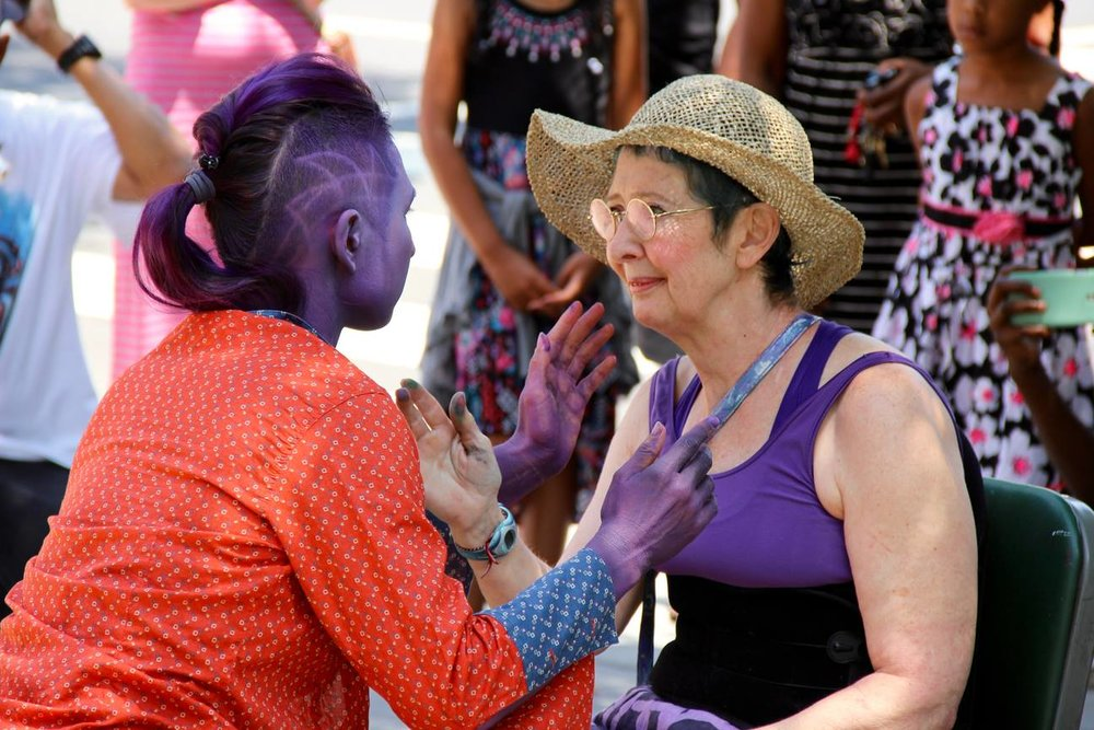 'Human: The Purple Experience' by Shanna Lim. Photo by Jordan Dyniewski