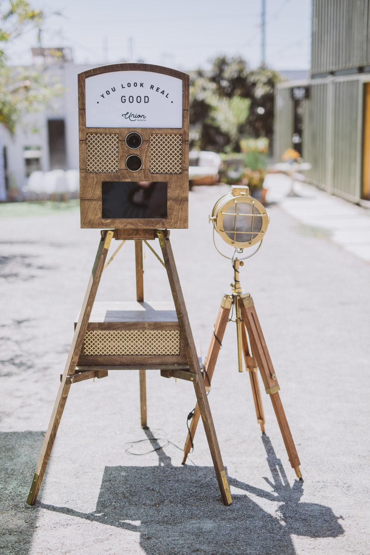 San Diego best vintage photo booth rental