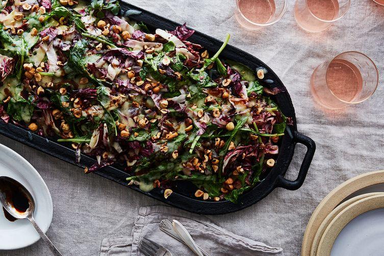 Joshua McFadden's Bitter-Greens Salad