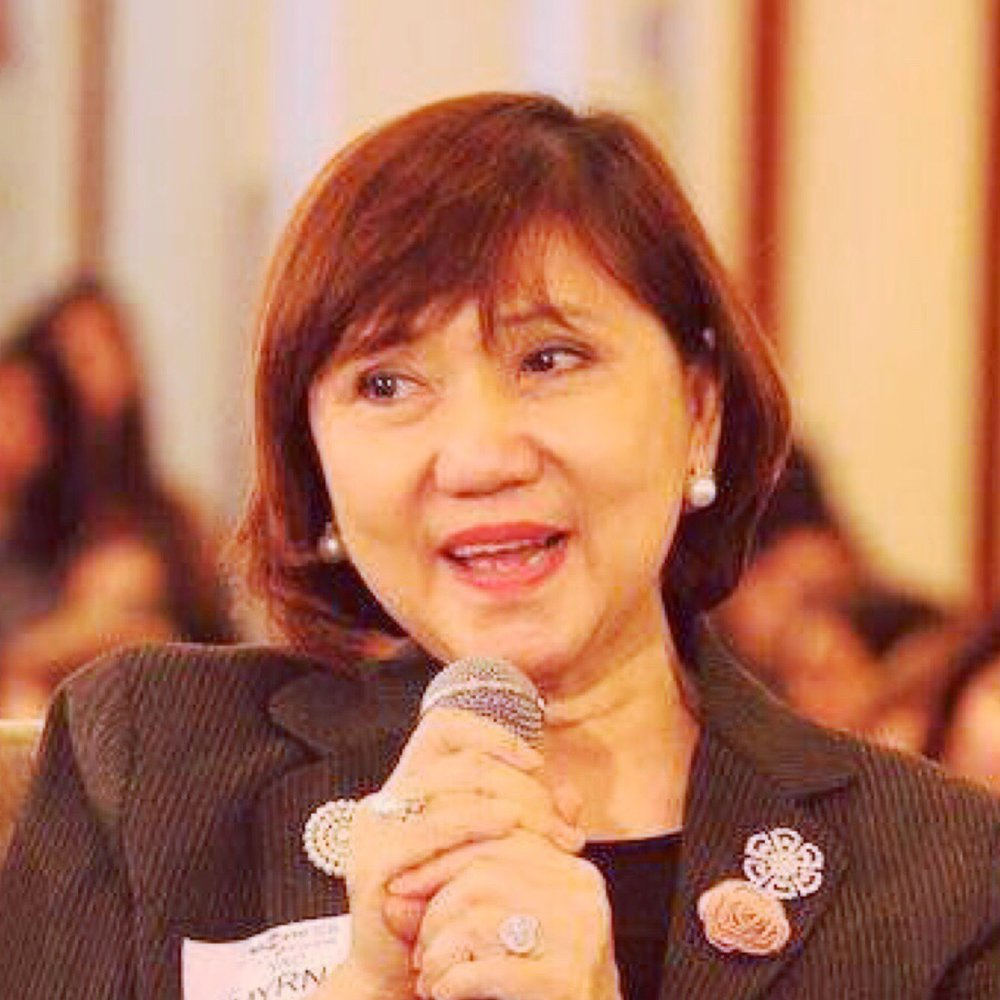 Myrna Yao   Chief Executive Officer and President of Richwell Trading Corporation  Former Deputy Minister of the National Commission on the Role of Filipino Women. (Appointed by President of the Philippines to oversee all women organizations.)  Global Entrepreneur of the Year and the Presidential Merit Award given by former President Gloria Macapagal Arroyo.