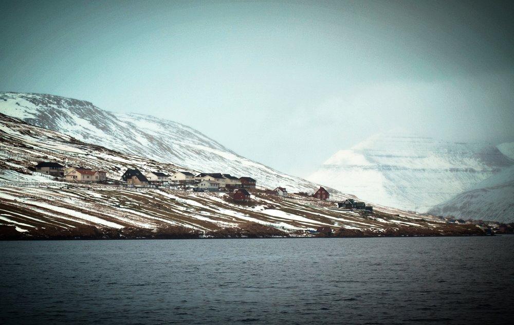 My hometown of Innan Glyvur.