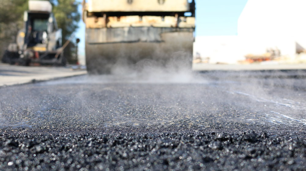 Rolling And Compacting Asphalt