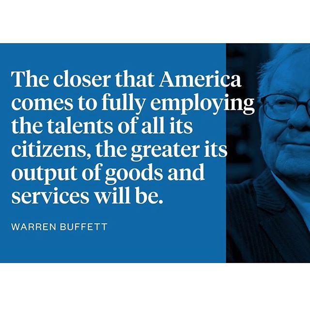 #bethechange #warrenbuffet