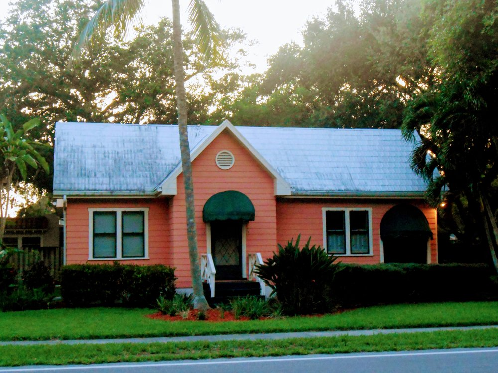 Pink house, SW Florida