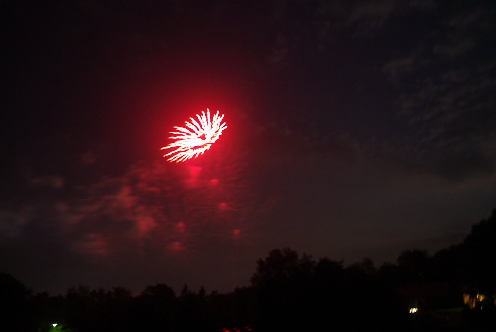 Independence Day Fireworks - Shenandoah Valley, Virginia, USA
