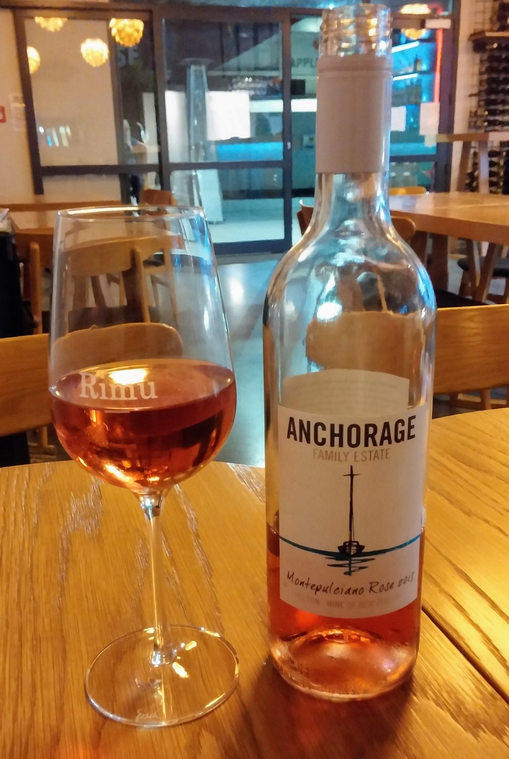 Anchorage Rosé at Rimu Wine Bar