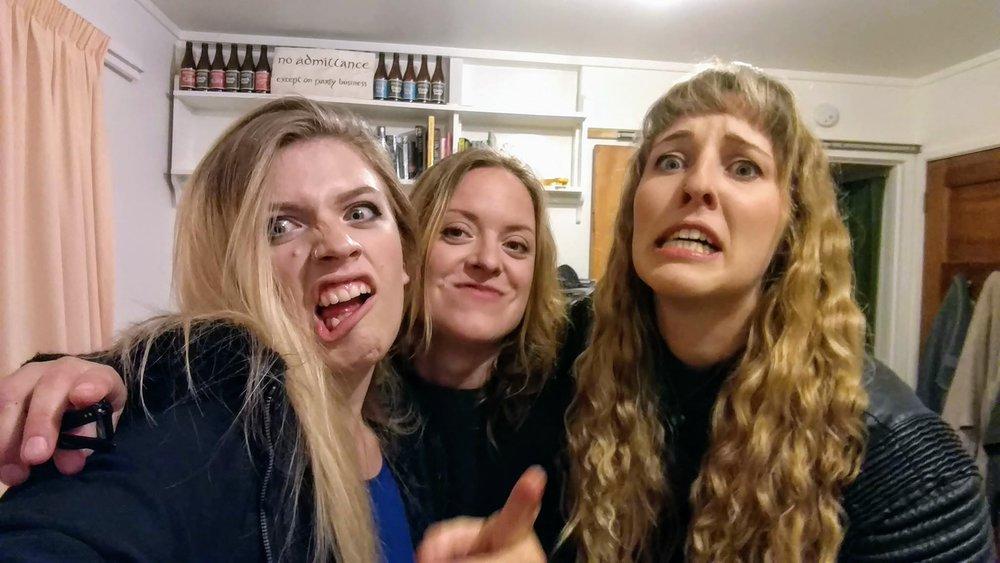 from left: Julia, Aleks, & Kate.