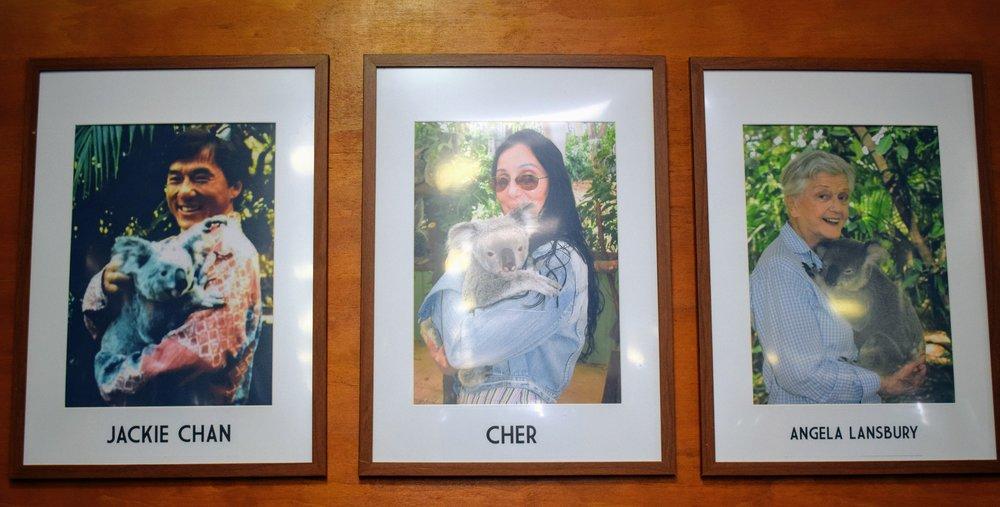 Jackie Chan, Cher, & Angela Lansbury... what a trio!