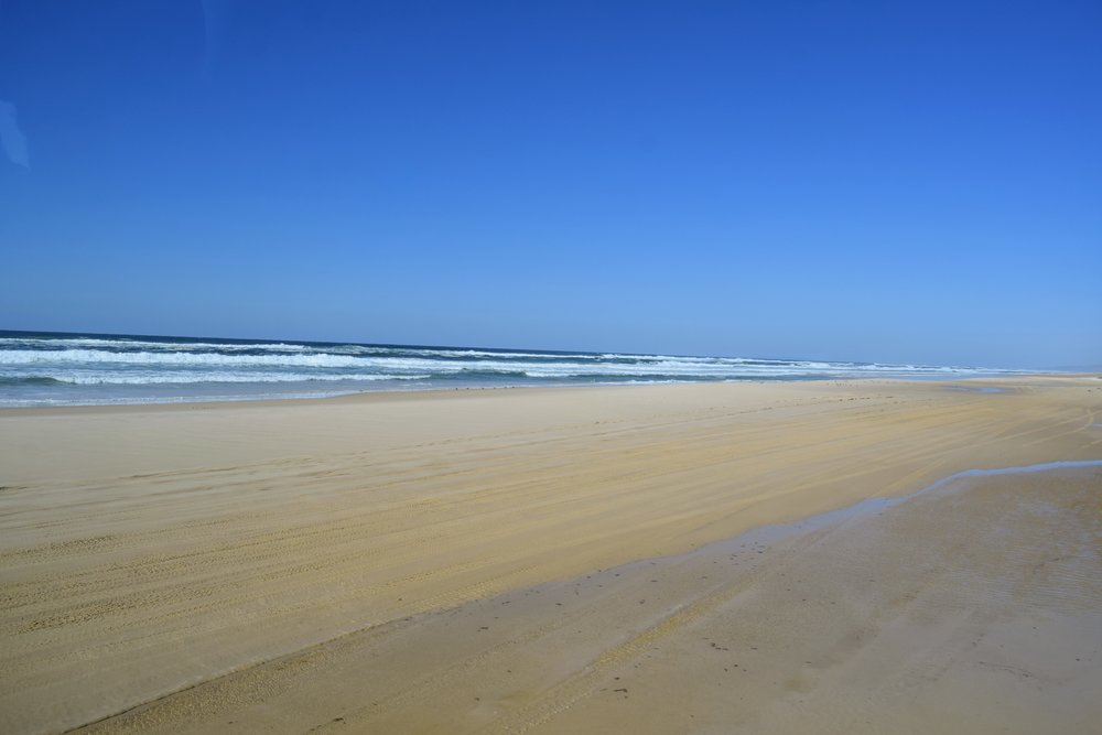 75 Mile Beach, seemingly endless