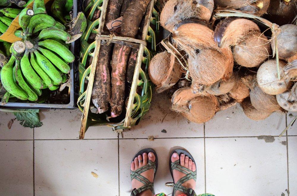 July 6,  Port Vila Market.