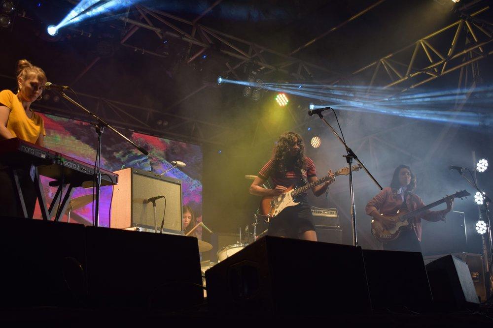 La Luz at Brisbane Gizz Fest 2017