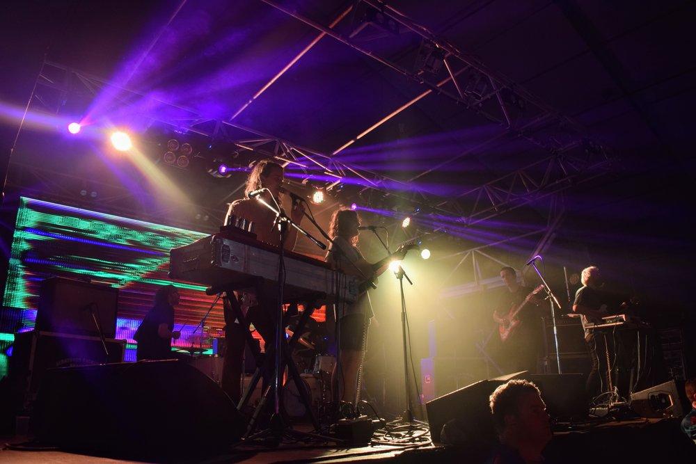 King Gizzard & the Lizard Wizard play at Gizz Fest Brisbane 2017