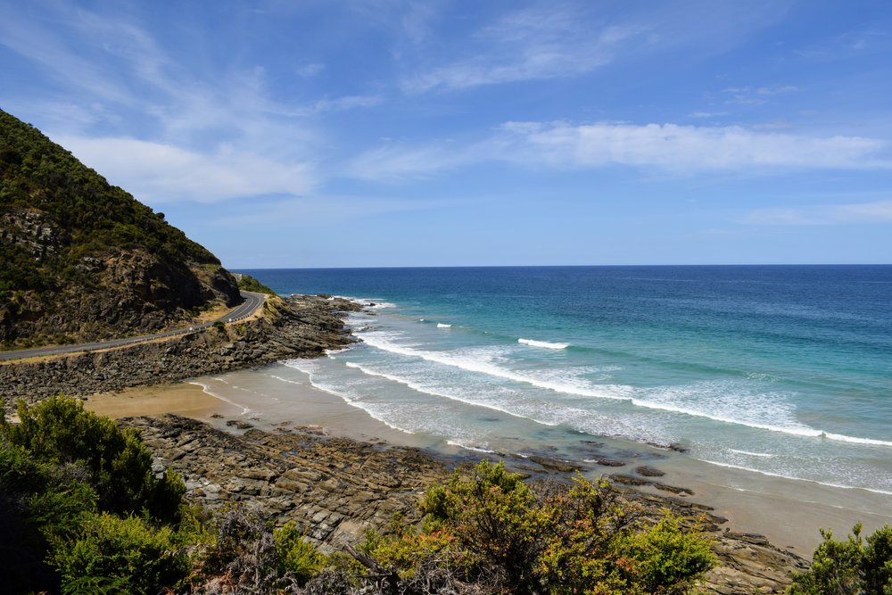 Stunning scenery abounds on the Great Ocean Road