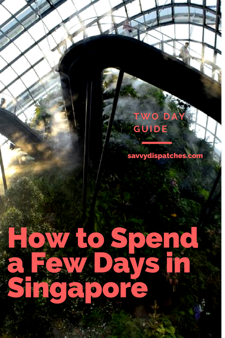 guide to 2 days in singapore