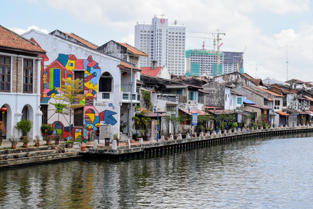 Riverfront Malacca.