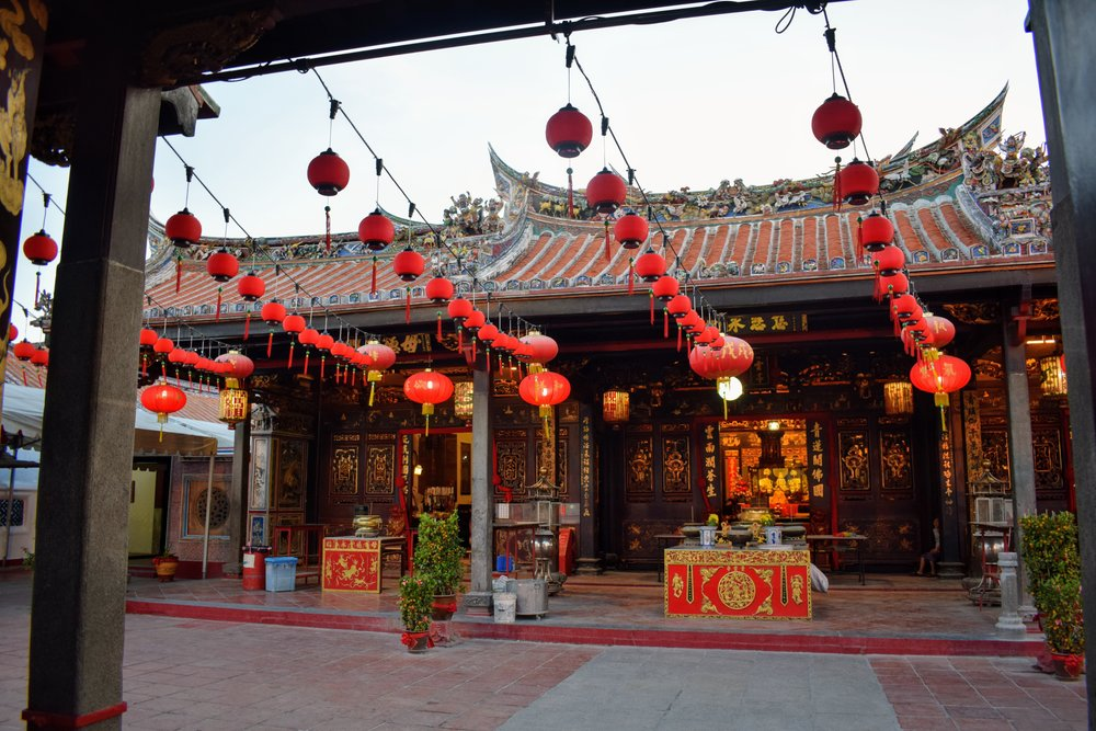 Cheng Hoon Teng Temple - a Taoist, Confucian, & Buddhist place of worship which also happens to be Malacca's oldest temple.
