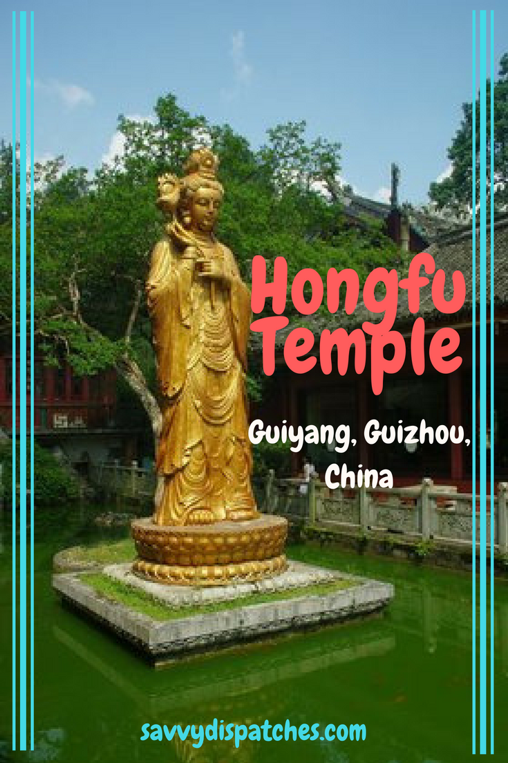 Hongfu Temple - A must visit on your next trip to Guyiang, Guizhou.