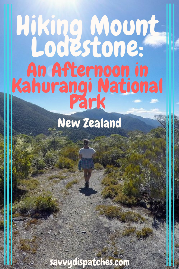Hiking Mount Lodestone is an afternoon hike in New Zealand's Kahurangi National Park