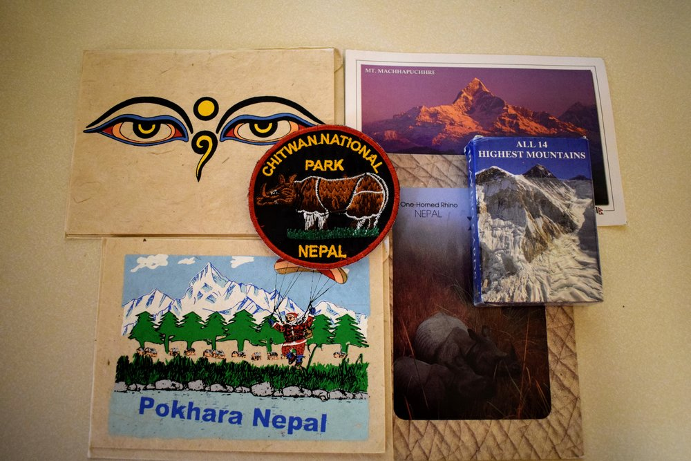 souvenirs from nepal