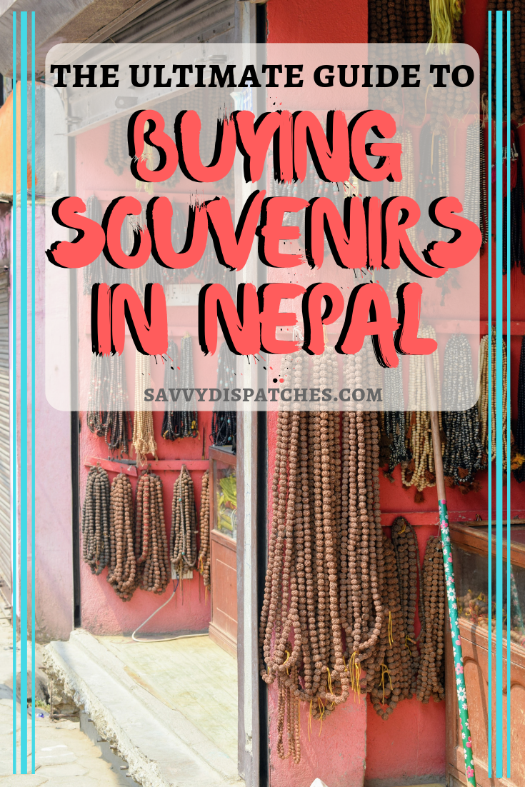 The ultimate guide for shopping tips on what to bring from Nepal. How to buy souvenirs, where to buy souvenirs, cool Nepali gifts. This post has it all! #Nepal #Souvenirs