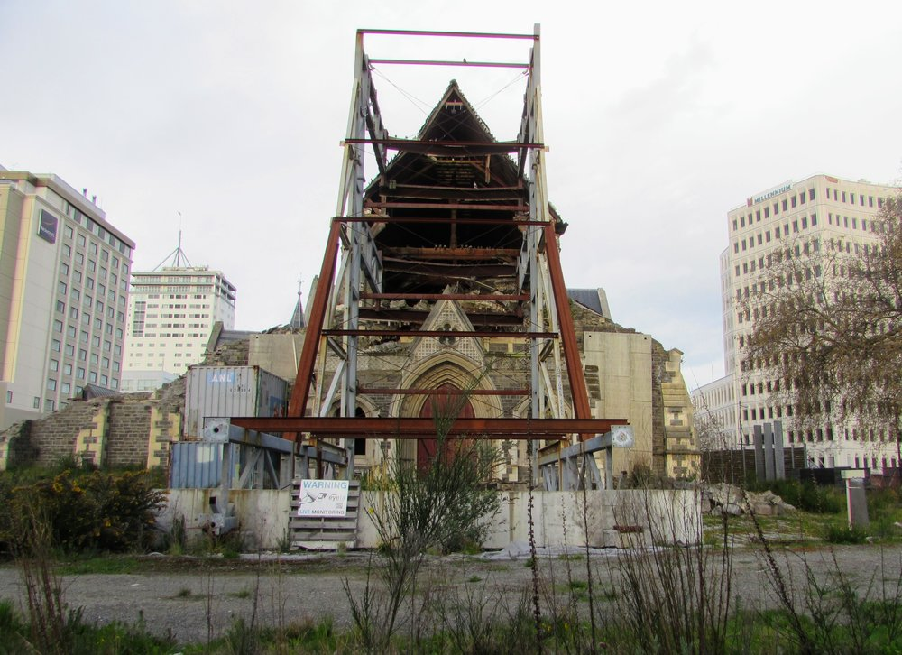 Christchurch Cathedral Ruins