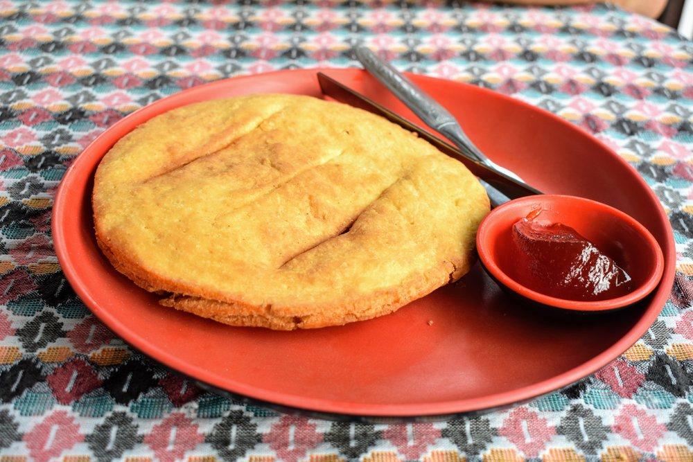 Tibetan fry bread
