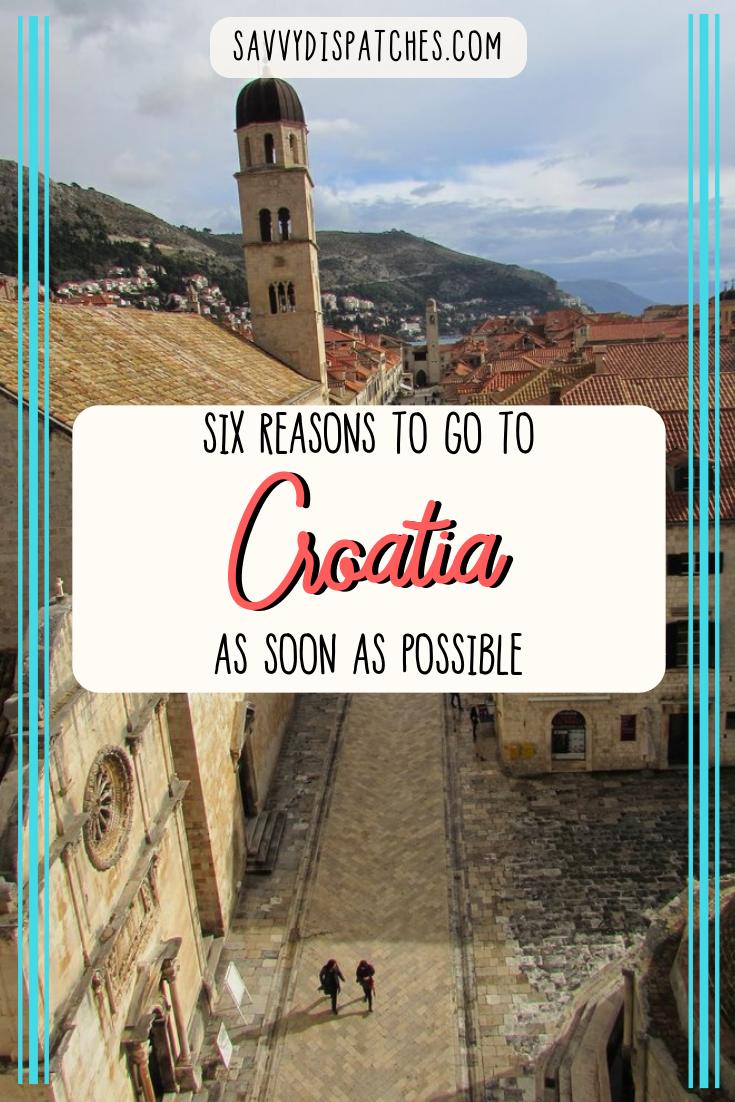 Six reasons why I loved Croatia | Europe Travel | Europe Bucket List