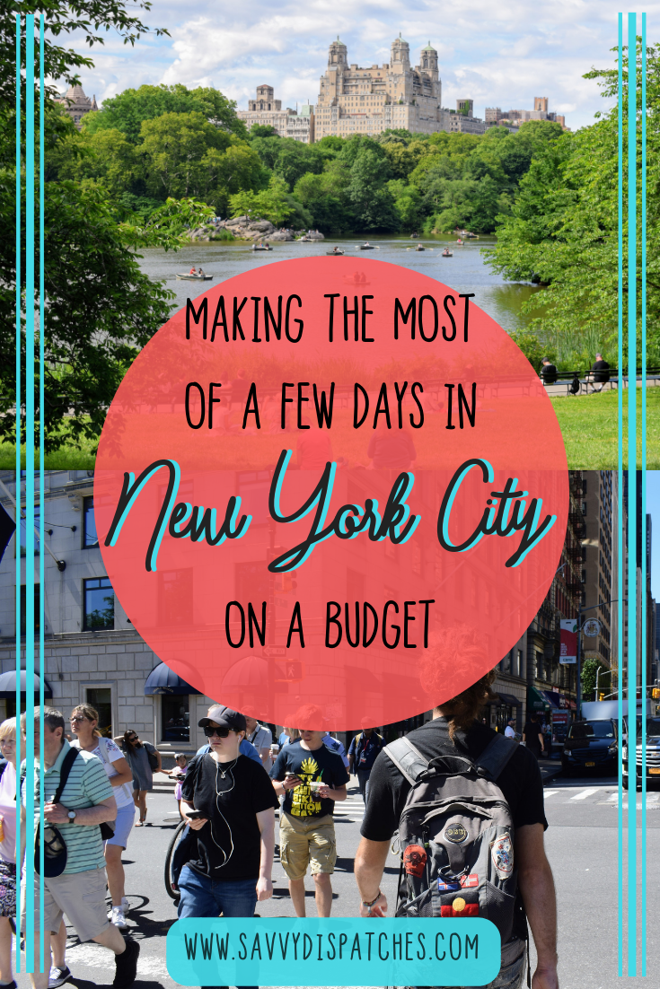 Spending a Few Days in NYC on a budget. // Essential NYC things to do. // New York City Budget Travel Guide