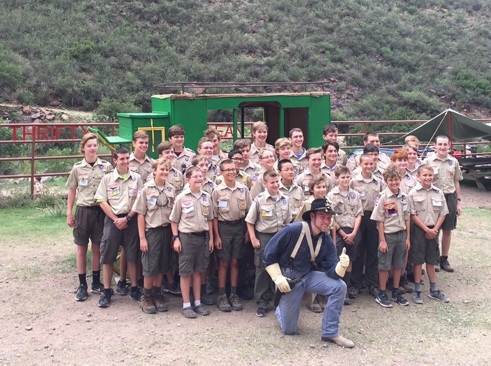 Buffalo Trails Scout Camp - Summer Camp 2016