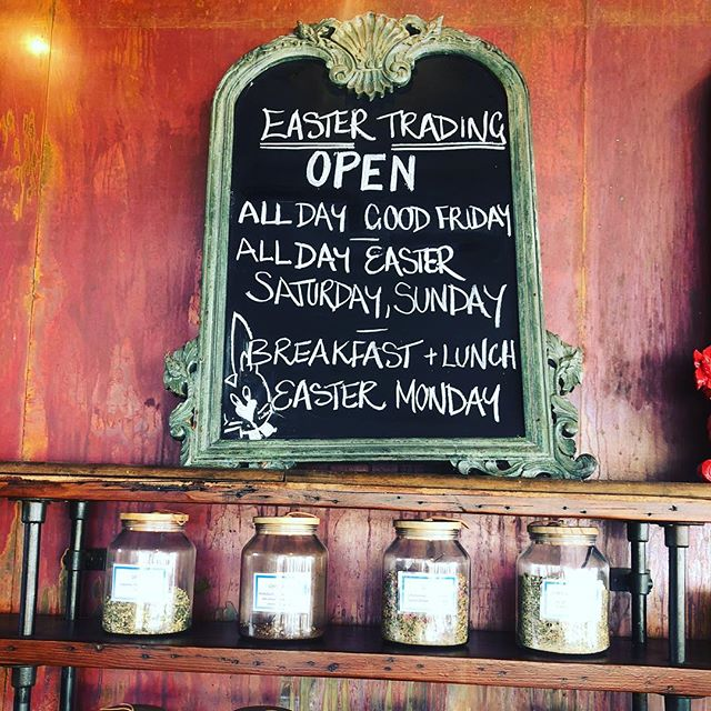 Yes we are open over Easter! 🐰🐰🐰🐰 #easter2018 #victorharbor #fleurieupeninsula #easter #cafe #restaurant #fleurieufood