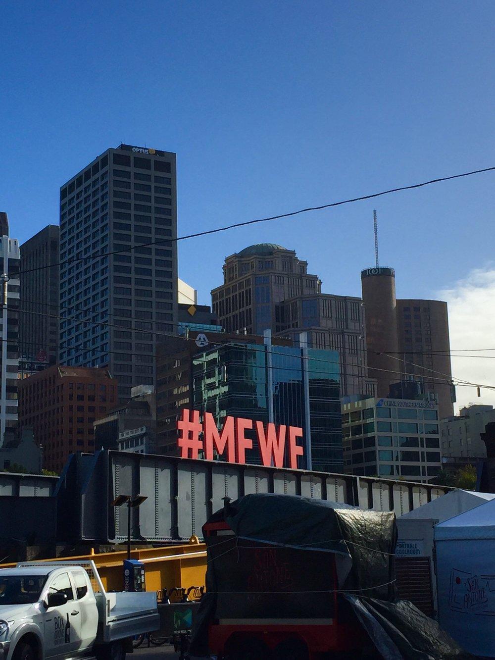 MELBOURNE FOOD + WINE FESTIVAL, OPENING WEEKEND