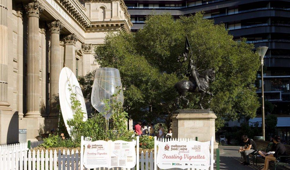 MELBOURNE FOOD + WINE, FEASTING VIGNETTES ACTIVATION