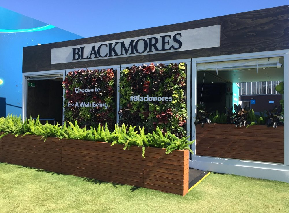 BLACKMORES AT AUSTRALIA OPEN