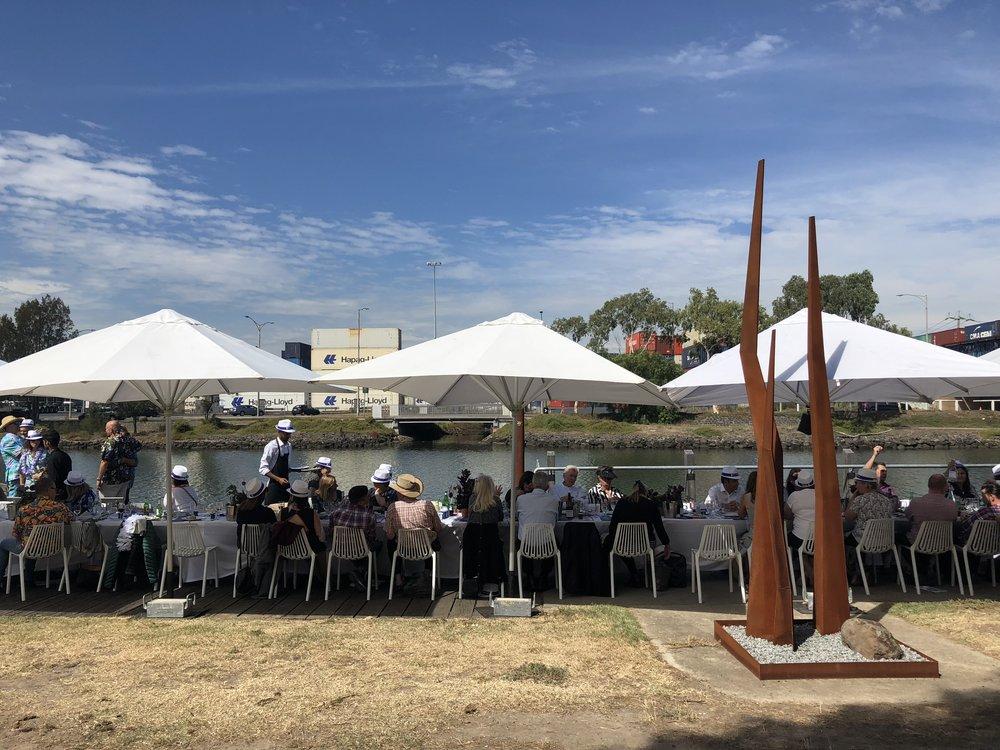 MELBOURNE FOOD + WINE FESTIVAL, WORLD'S LONGEST LUNCH FOOTSCRAY