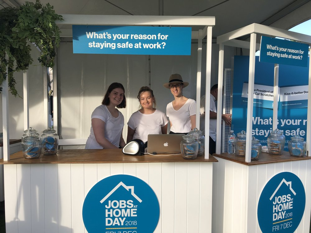 WORKSAFE VICTORIA, JOBS AT HOME DAY