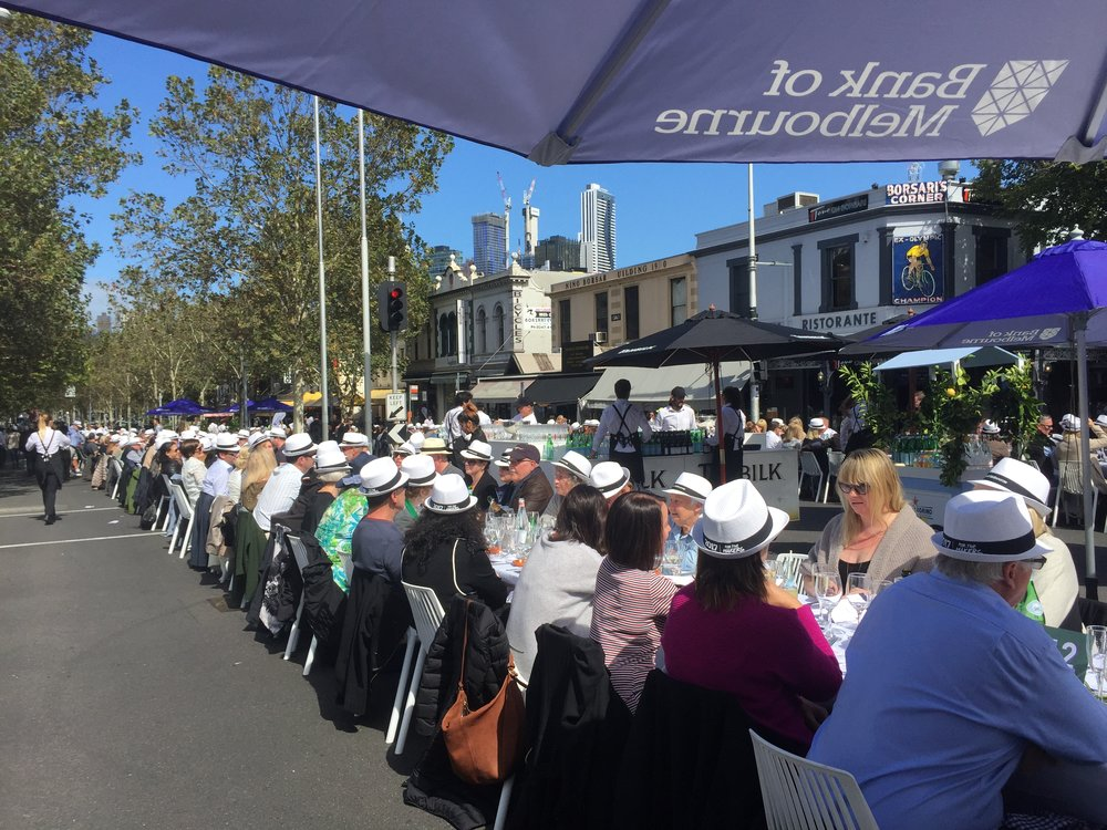 MELBOURNE FOOD + WINE FESTIVAL / WORLD'S LONGEST LUNCH