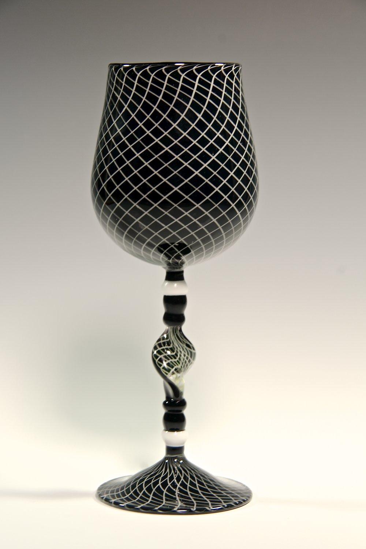 Reticello goblet