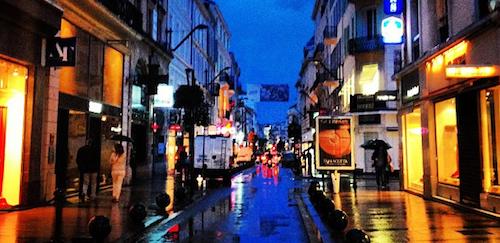 Rainy Cannes