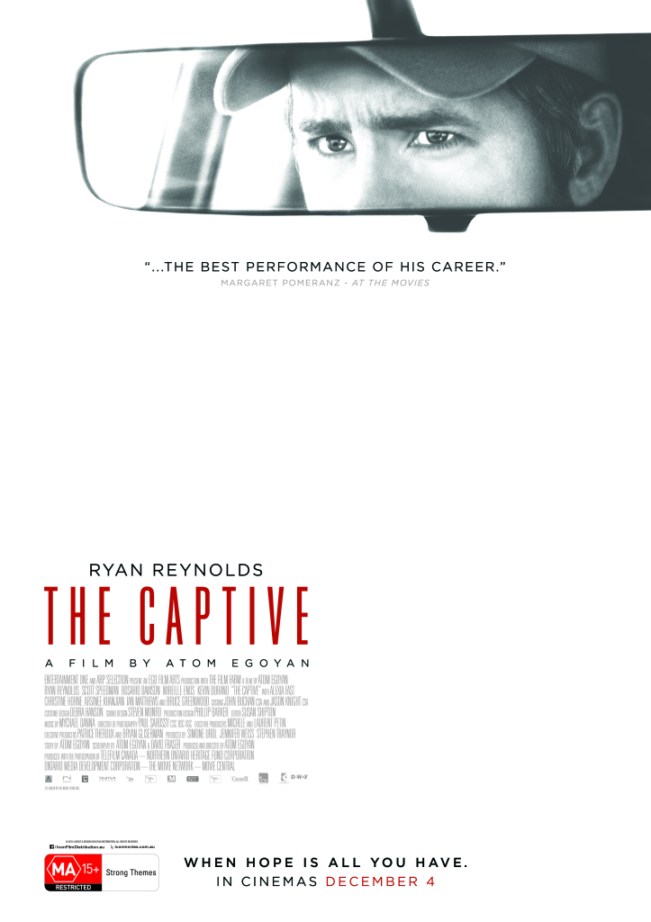 THE CAPTIVE_A4 Poster_CMYK