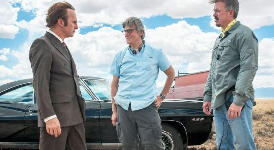 Bob Odenkirk, Peter Gould and Vince Gilligan