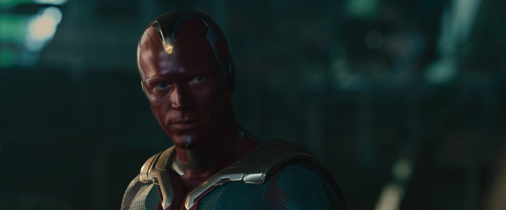 Marvel's Avengers: Age Of Ultron..Vison (Paul Bettany)..Ph: Film Frame..?Marvel 2015