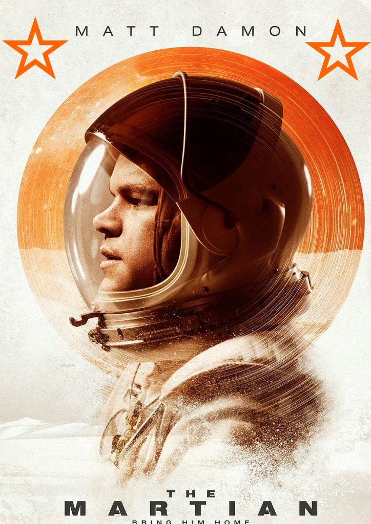 Star Poster- Martian