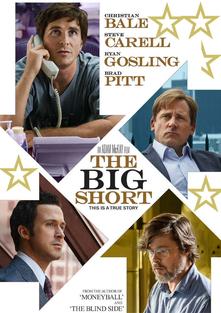 Star Poster- The Big Short